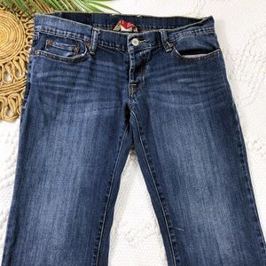 "Lucky Brand Stretch Button Fly Jeans 30"" inseam"